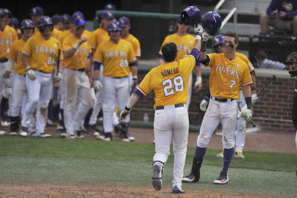 'We challenge those pitchers': As Florida's SEC-best staff awaits, LSU dwells on success against elite arms _lowres