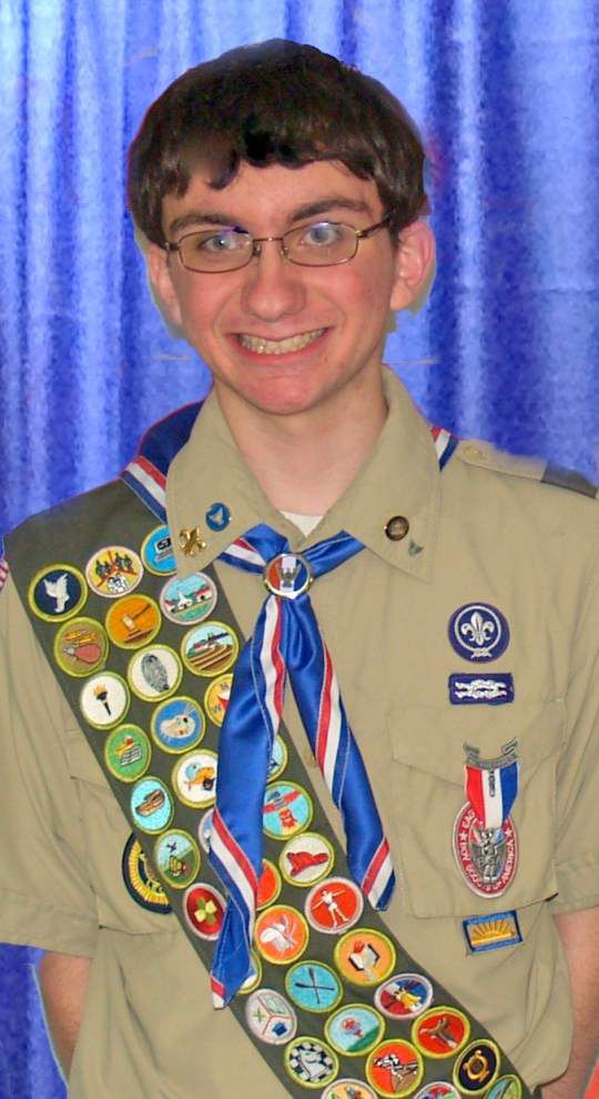 Luling Boy Scout earns Eagle award _lowres