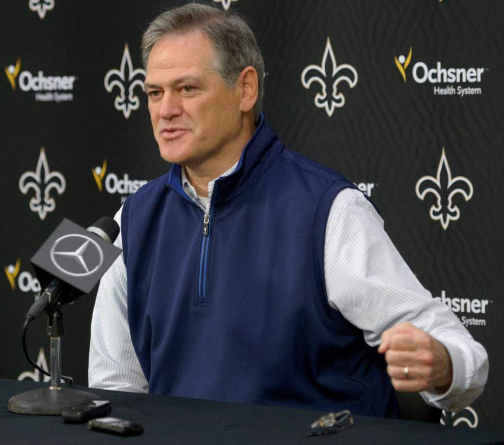 Mickey Loomis rebuffs Sean Payton rumors, Drew Brees contract speculation _lowres