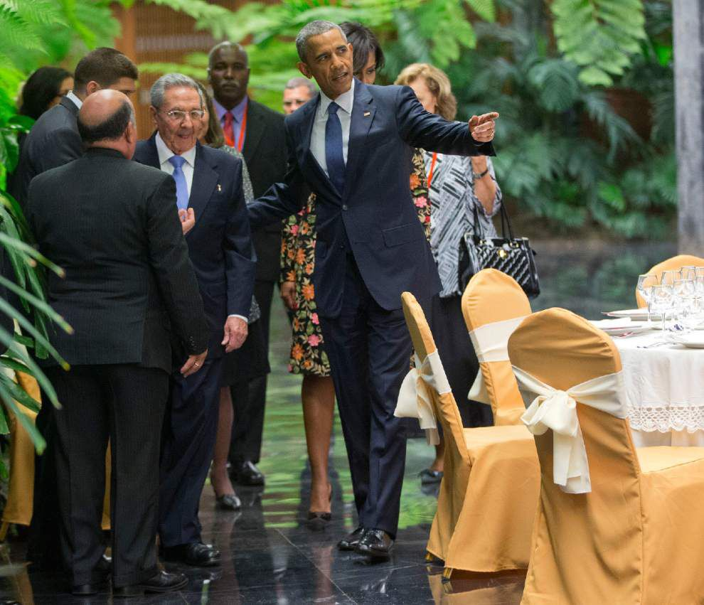 President Obama in Cuba: Time to bury 'last remnants' of Cold War in Americas _lowres