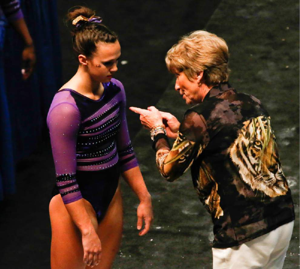 Video: Breaux is excited about the future for LSU gymnastics _lowres