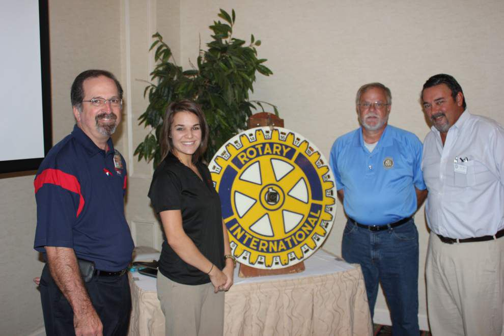 Rotarians learn history of Community Coffee _lowres