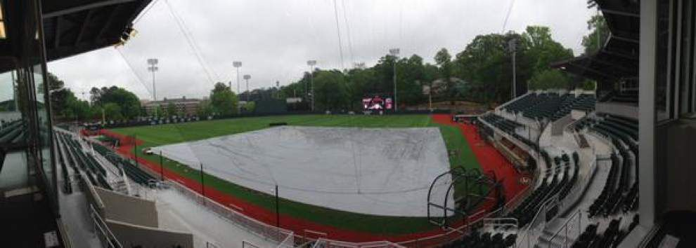 LSU-Georgia series opener postponed; doubleheader set for Saturday _lowres