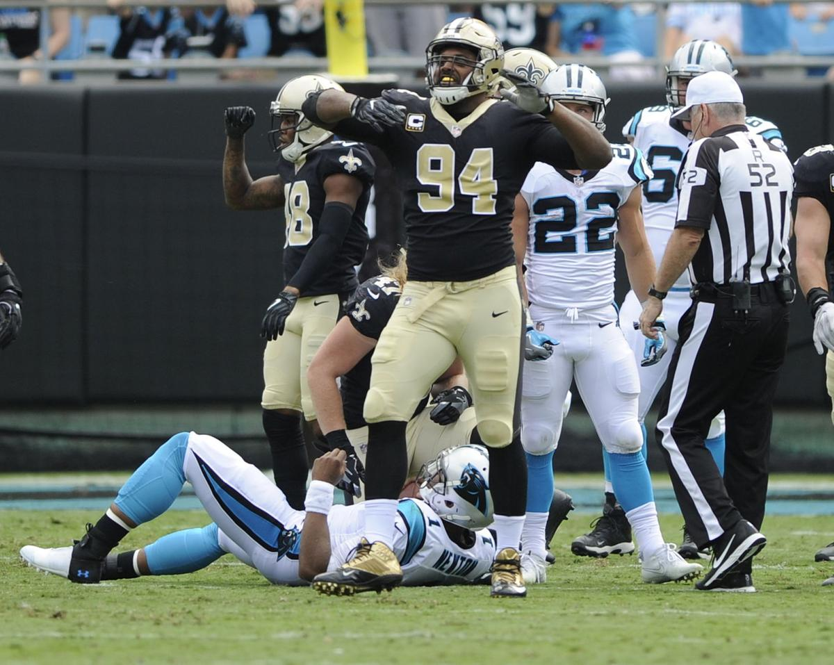 Cam Jordan added to injury report Kenny Vaccaro held out of