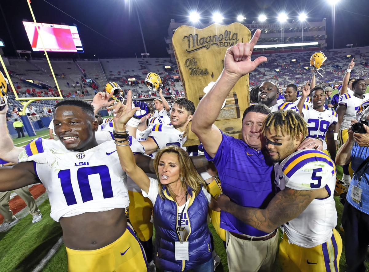 Report Lsu Coach Ed Orgeron Wife Kelly Came Out Stronger After Her Near Death Episode Last Spring Lsu Theadvocate Com