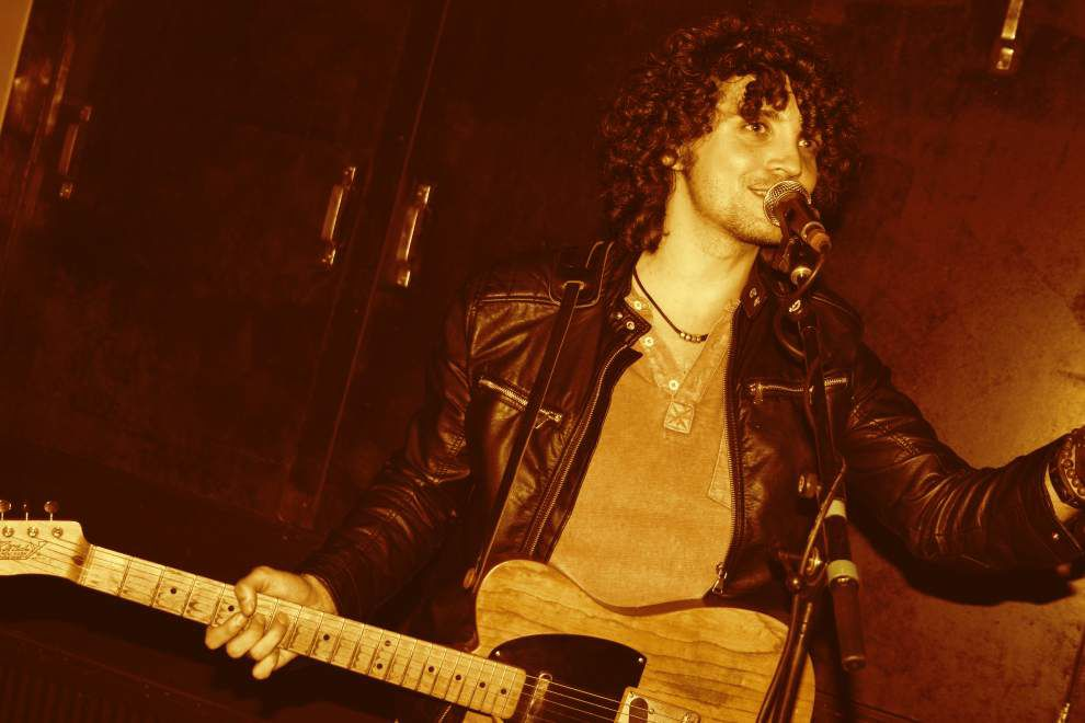 Julian Primeaux: In the rowdy, royal company of a rock 'n' roller _lowres