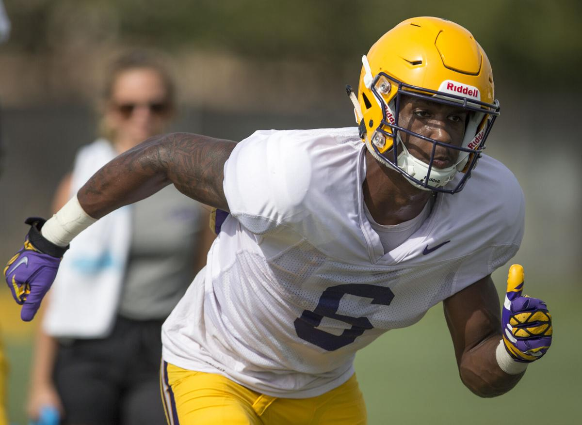 Terrace Marshall Jr. : LSU fall practice