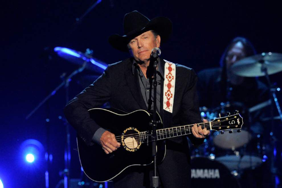 Last stop, Texas, for country star George Strait _lowres