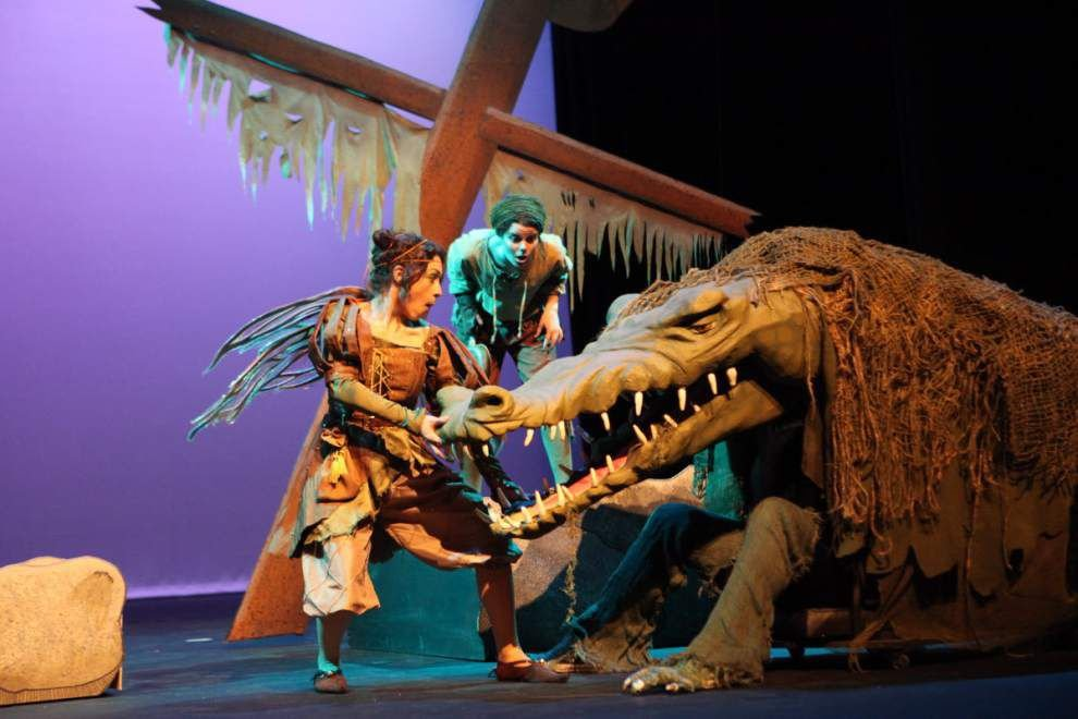 SLU's 'Peter & Tink' flies off to perform in Bogalusa, Covington _lowres