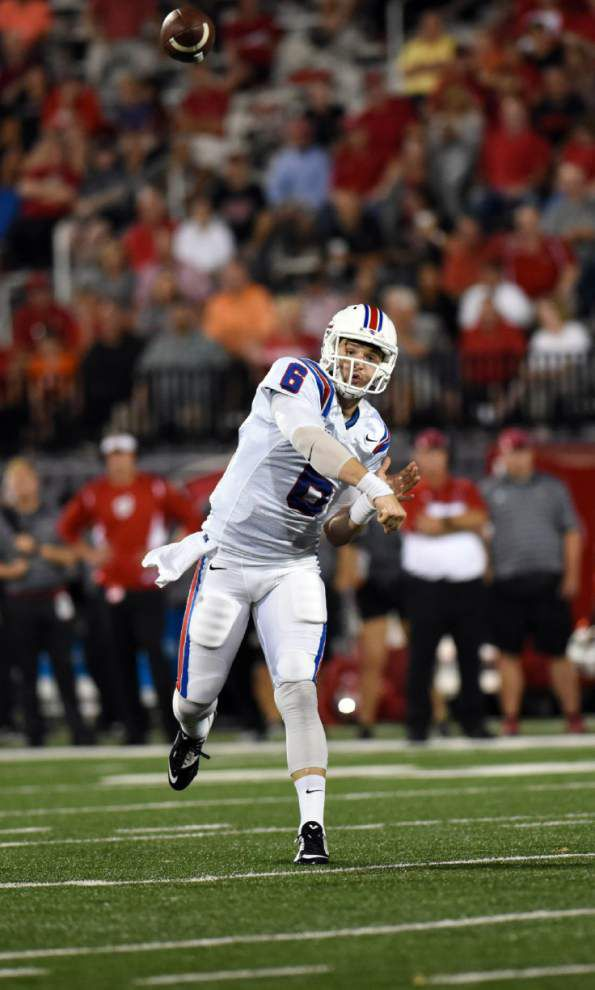 After battling beefy Akron QB Thomas Woodson, Louisiana Tech's savvy Jeff Driskel is next for Ragin' Cajuns _lowres