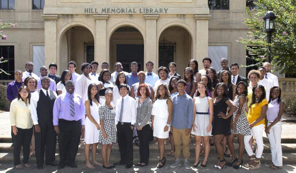 Summer Scholars at LSU honored _lowres