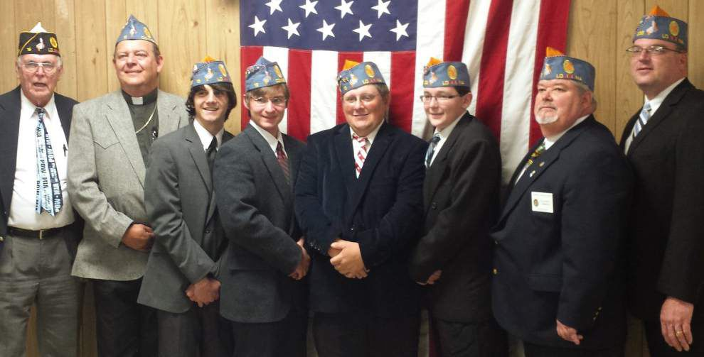 American Legion Family Post 16 installs officers in Covington _lowres