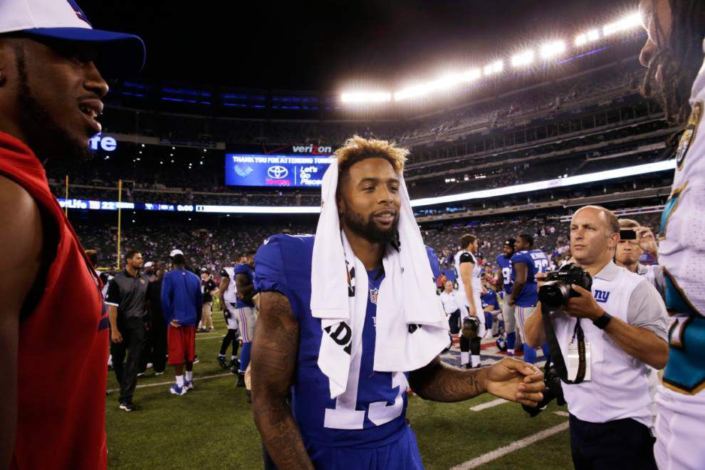 Odell Beckham Jr. intends to have fun — even if it makes him a target _lowres