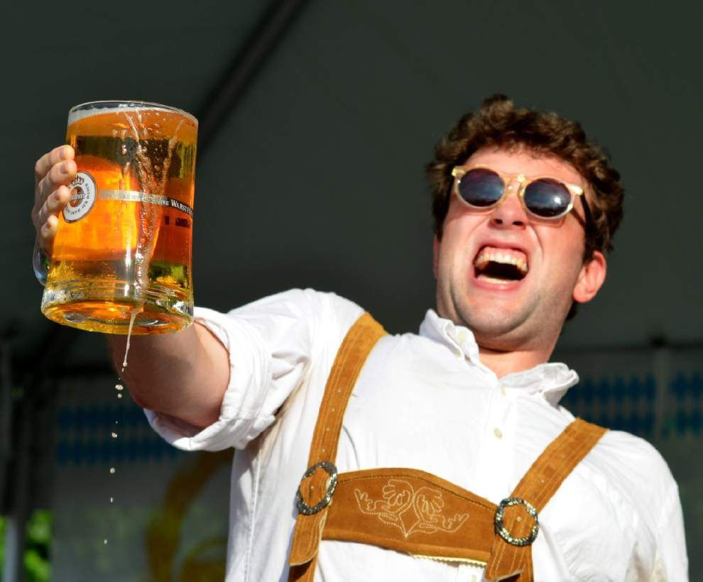 Oktoberfest rolls out the bands, the brats and the beer _lowres