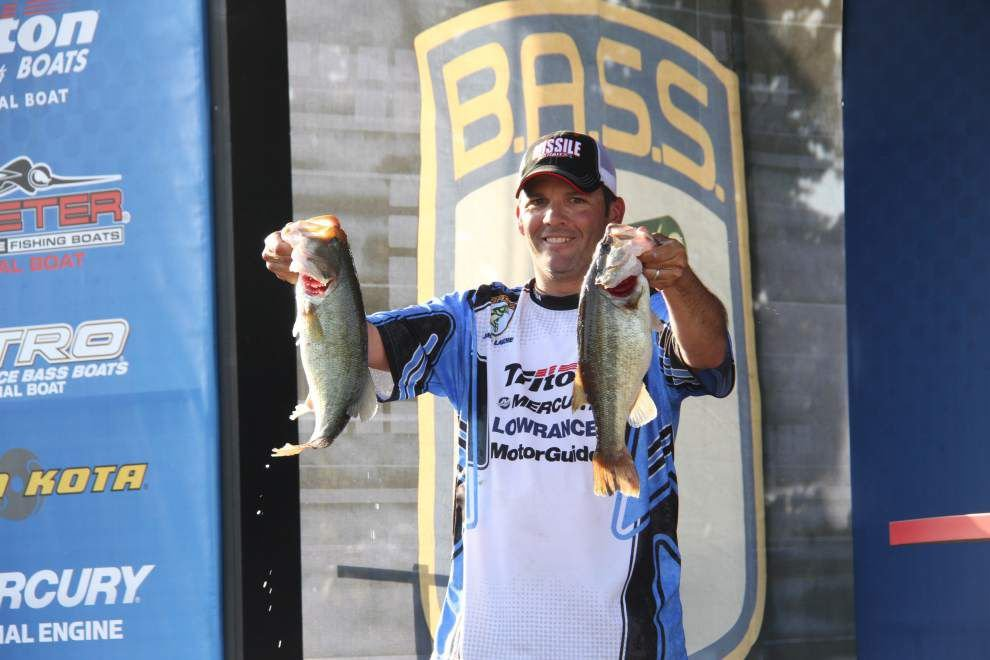 Gonzales' Jamie Laiche comes up just short in bid to earn spot in Bassmaster Classic _lowres