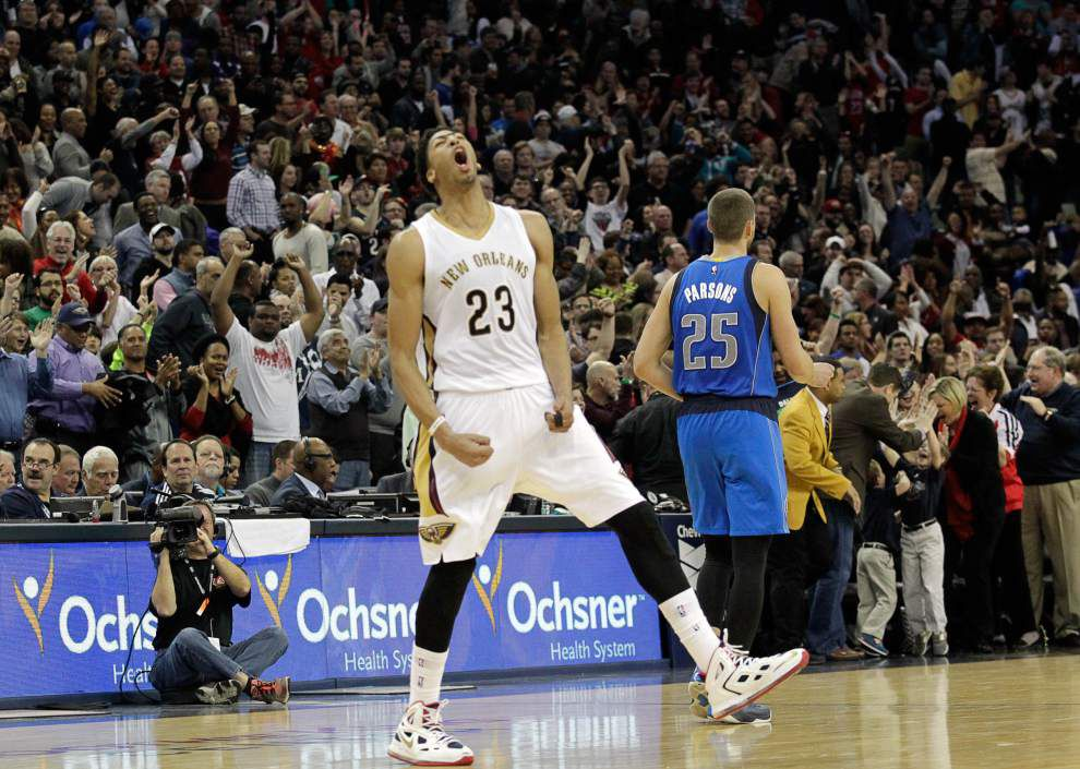 Pelicans dump Mavericks 109-106 for third straight win _lowres