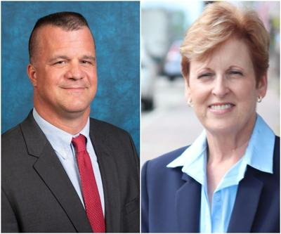 Buddy Mincey (left) and Lori Callais (right)