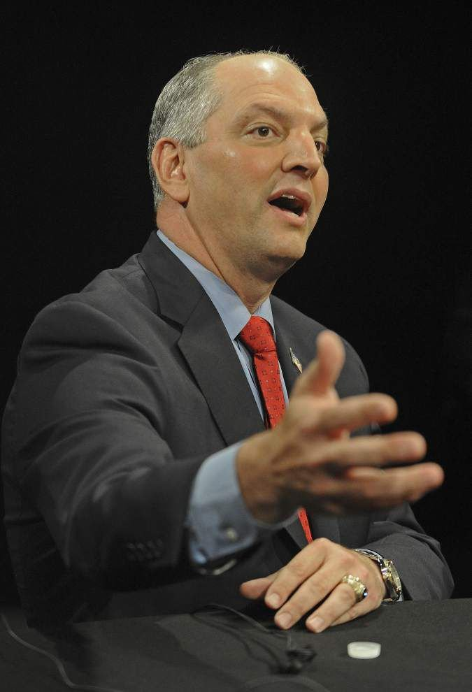 'Liar,' 'cheater,' 'holier than thou': John Bel Edwards, David Vitter take shots during heated governor's debate   _lowres