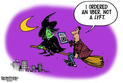 Walt Handelsman: New Cartoon Caption Contest Winners!