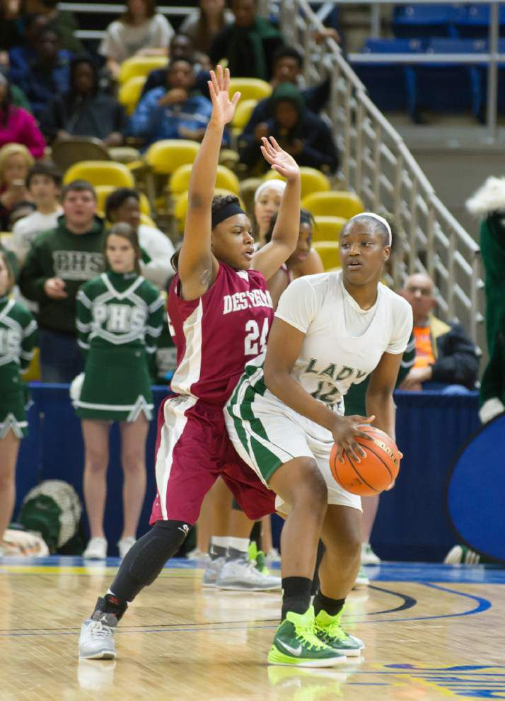 Helen Cox's Marlain Veal and Higgins' Marshall Jackson lead Westbank sweep in Class 5A all-state awards _lowres