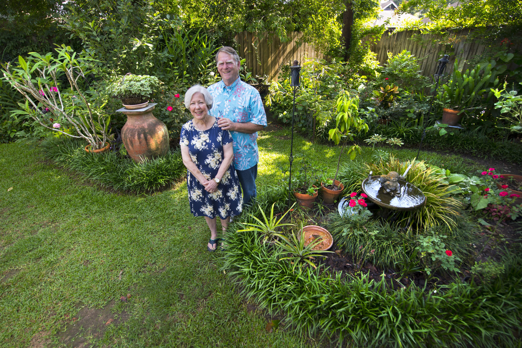 How Does Gary Anderson Grow His Baton Rouge Garden Big See Bounty Of Vegetables Plants More Home Garden Theadvocate Com