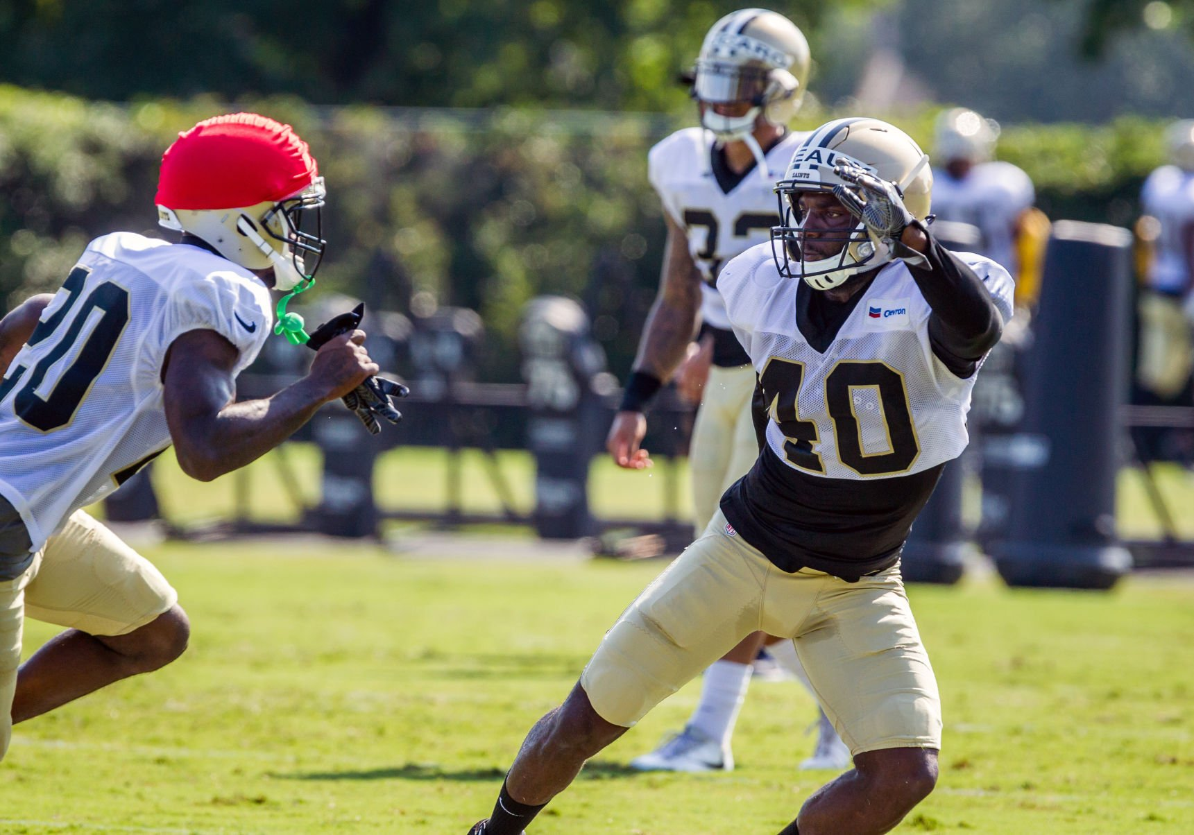 Delvin Breaux's injury more than contusion