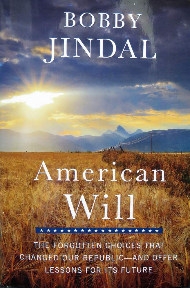 Bobby Jindal makes his case for presidency in new book 'American Will' _lowres