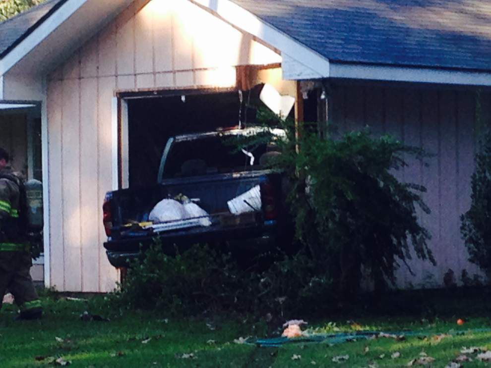 Man drives truck into sleeping neighbor's bedroom near Mandeville on Tuesday _lowres