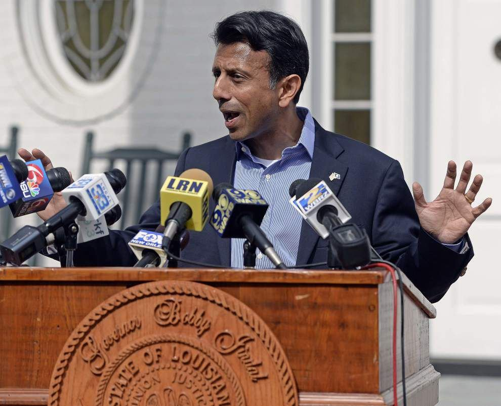 Louisiana Spotlight: With weeks remaining in term, Bobby Jindal shows up at home, expecting praise _lowres