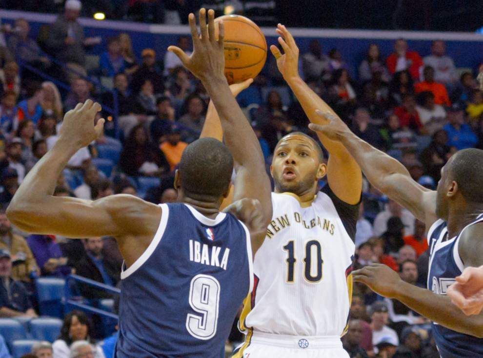 Eric Gordon's decision brings a little clarity to the Pelicans' salary-cap picture _lowres
