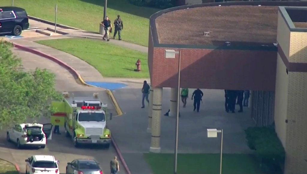 Santa Fe High School shooting in Texas