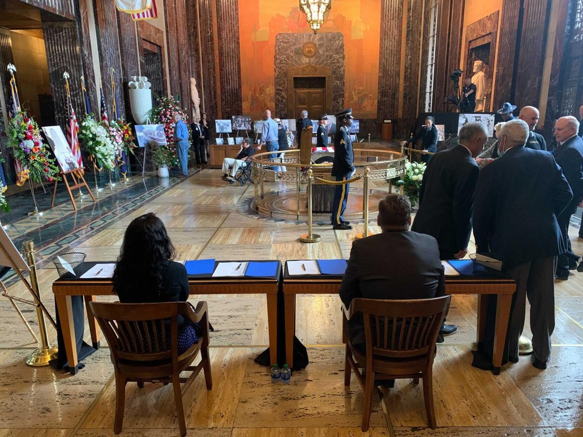 Edwin Edwards funeral