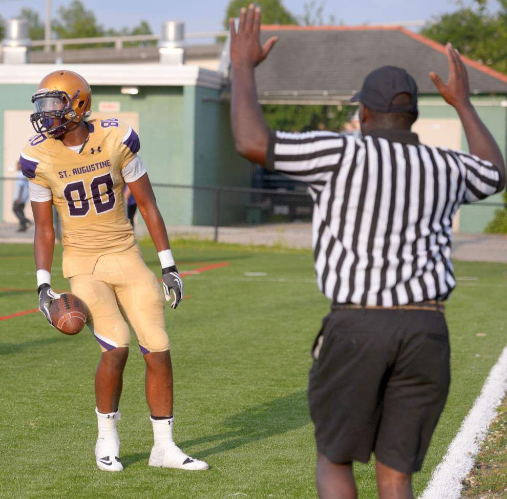 St. Aug tight end Jamal Pettigrew commits to LSU _lowres