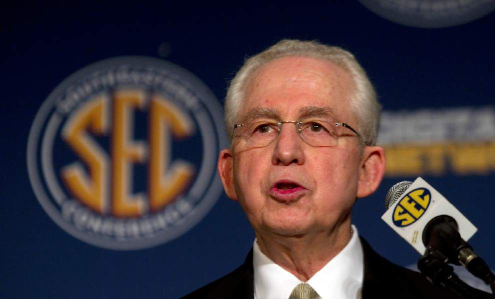 Greg Sankey a top candidate to replace Mike Slive as SEC Commissioner _lowres