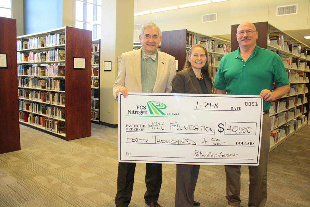 RPCC Foundation receives $40K donation _lowres