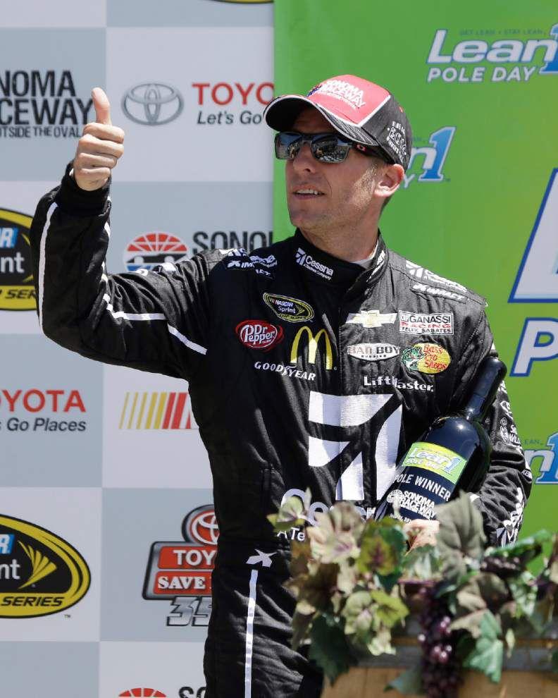 Brendan Gaughan wins Nationwide race _lowres