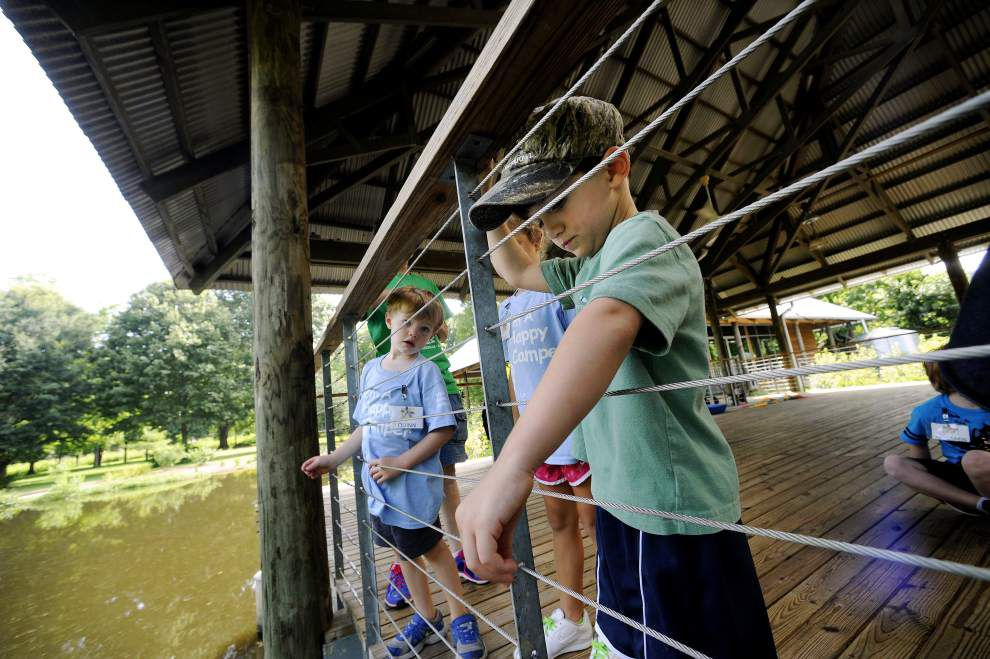 Young campers get a chance to learn about outdoor life in Louisiana _lowres