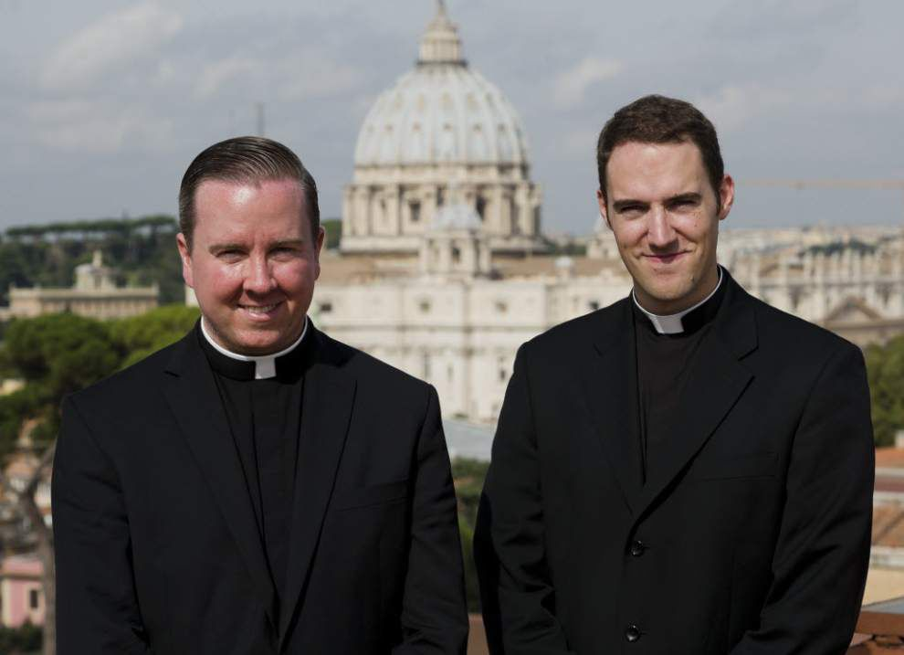 Dancing priests become Internet sensation _lowres