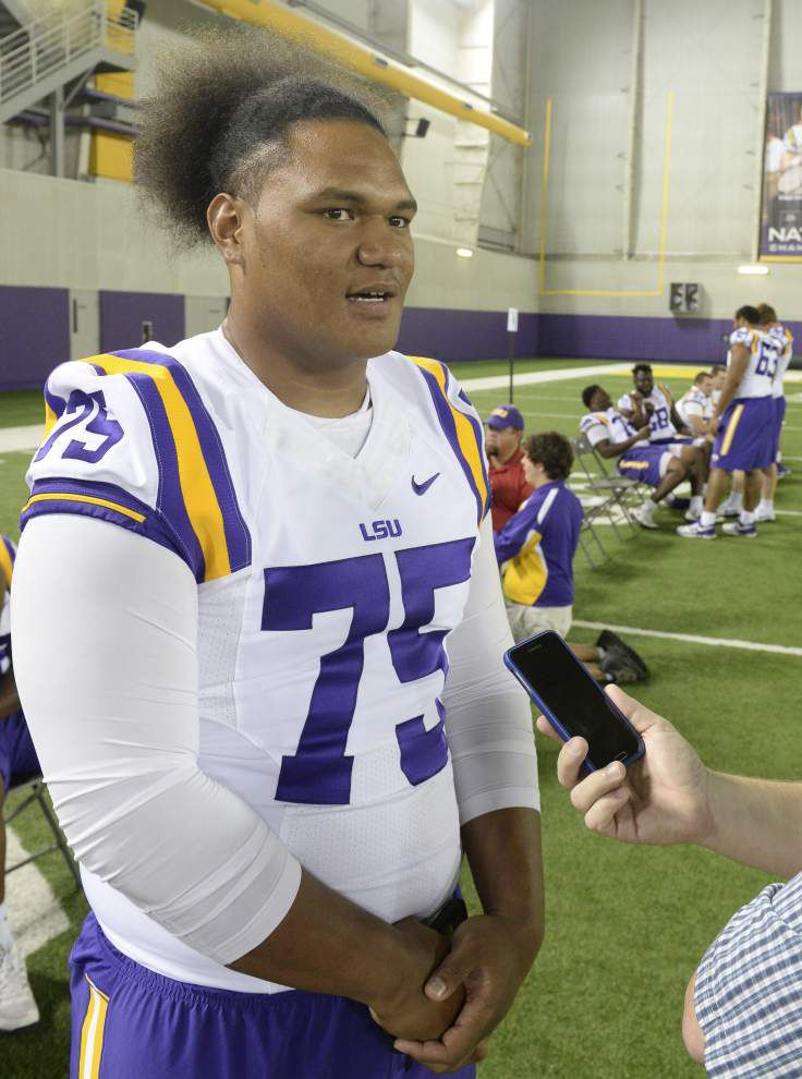 Add LSU O-lineman Maea Teuhema, athlete Donte Jackson to the list of rookies creating buzz _lowres