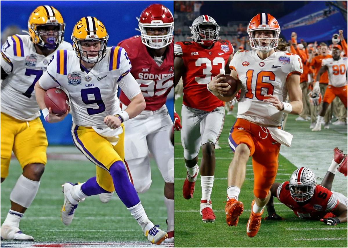 Who Won Lsu Or Clemson >> It S Lsu Vs Clemson For College Football Playoff In New