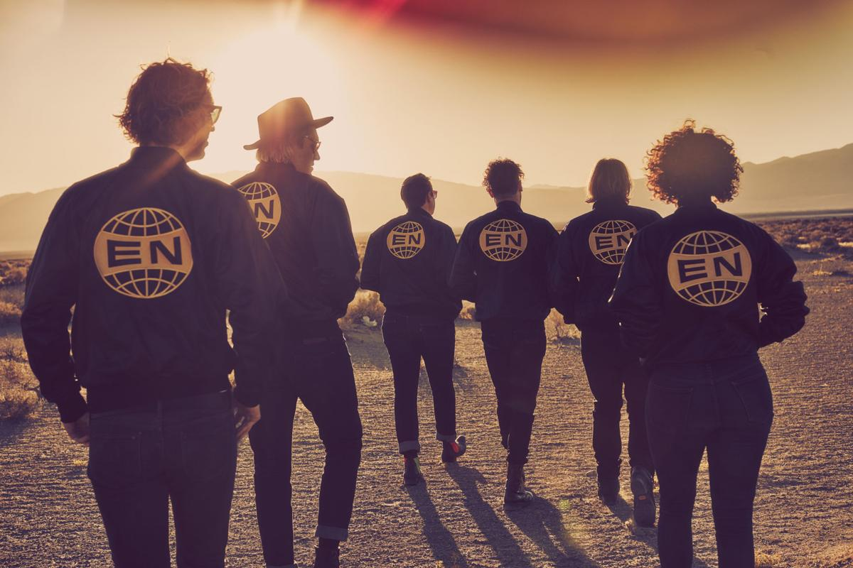 Arcade Fire band picture copy for Red