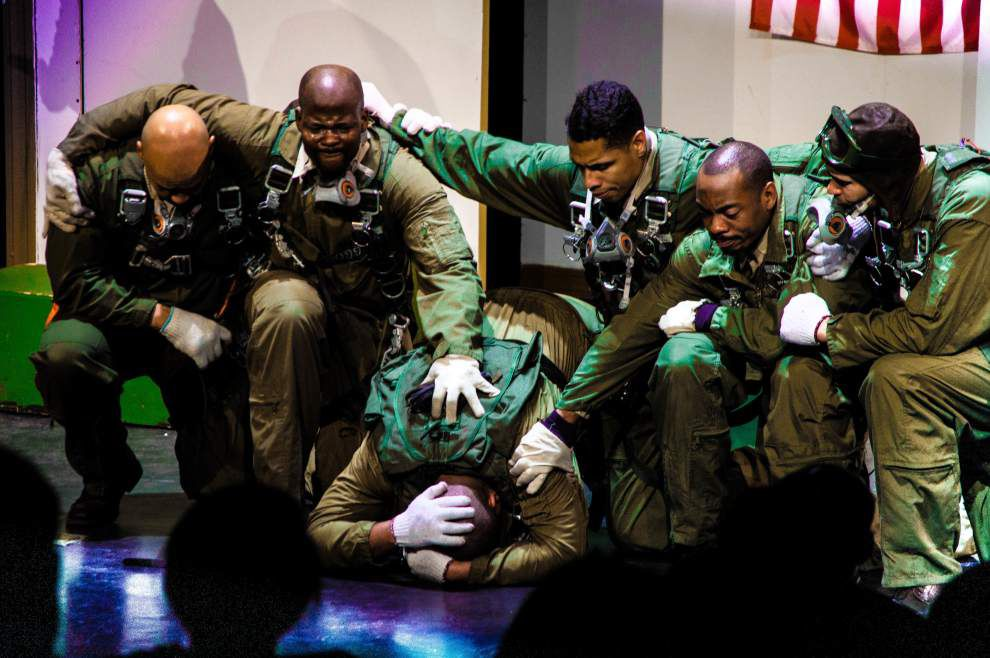 A tribute to stubborn heroism in 'Black Angels over Tuskegee' _lowres