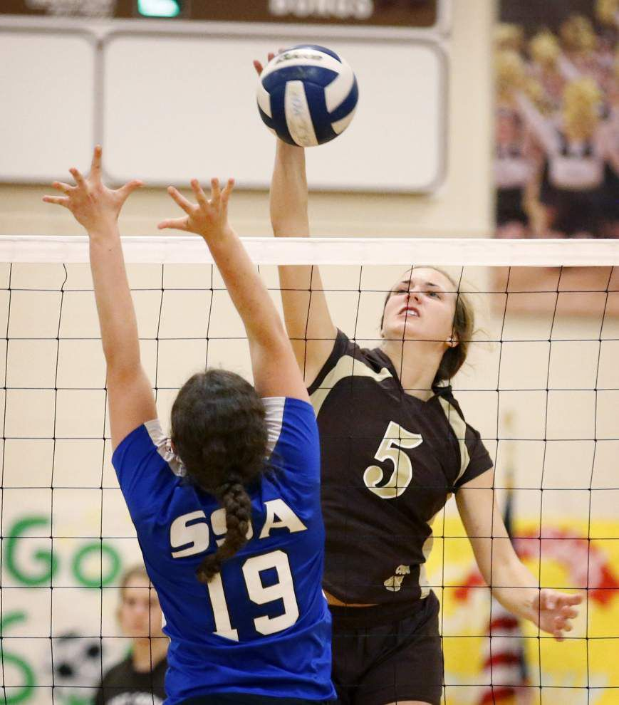 LHSAA volleyball results, pairings _lowres