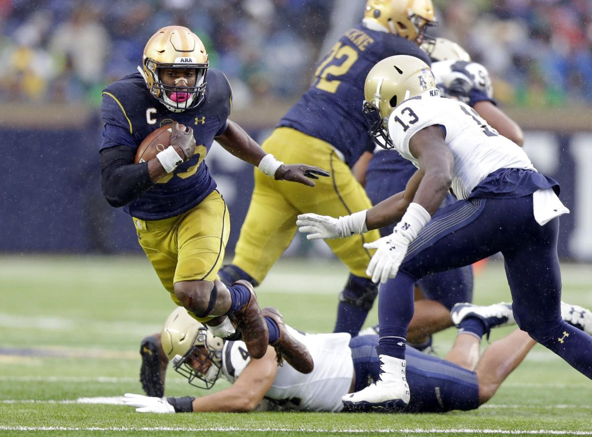 Notre Dame Running Back Josh Adams Has Got Everything Including Rest Ahead Of Facing Lsu In Citrus Bowl Lsu Theadvocate Com