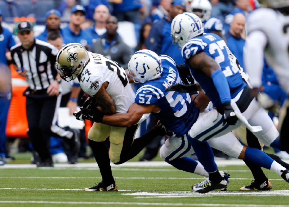 Saints safety Kenny Vaccaro on pace for career high in tackles _lowres