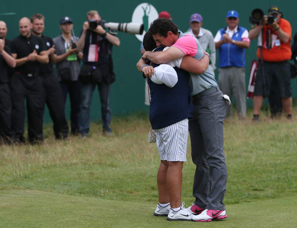 Rory McIlroy wins British Open for third major _lowres