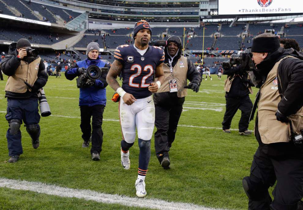 Matt Forte won't return for a ninth season with the Chicago Bears _lowres