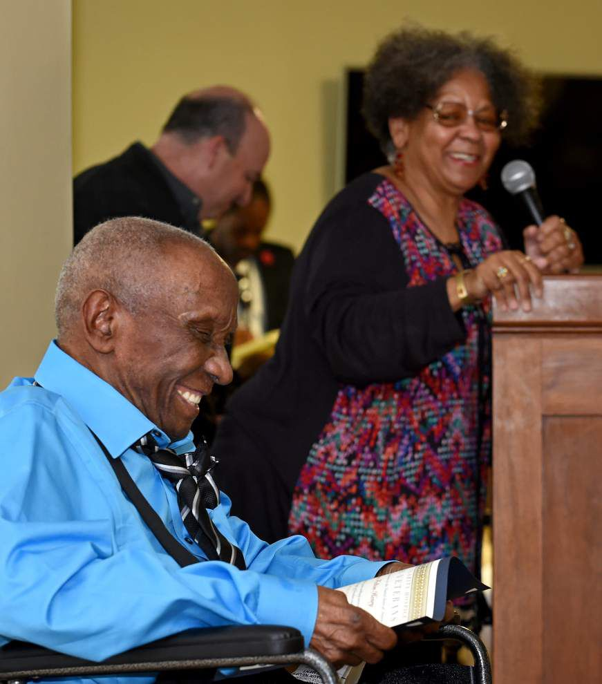Iberville Parish Army veteran, now 102, looks back on years of service _lowres