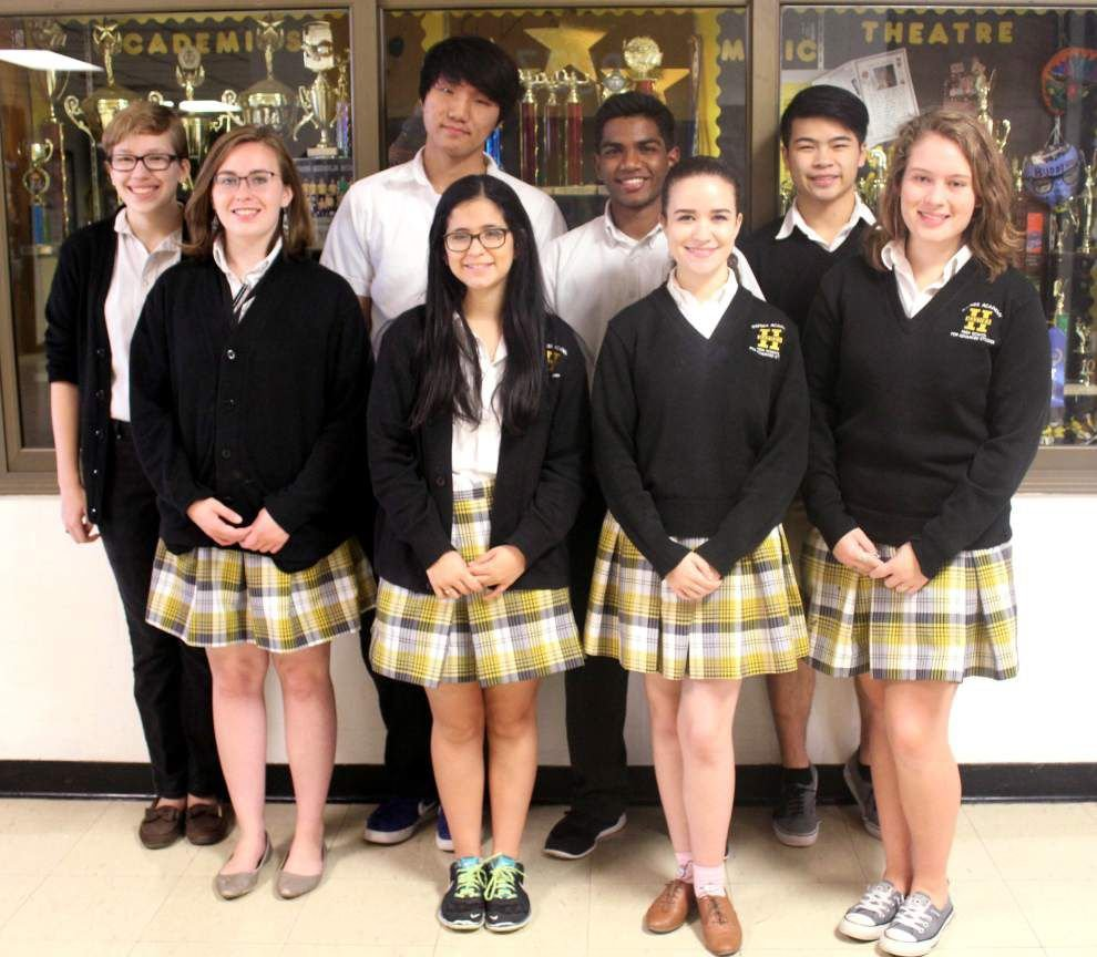 Haynes Academy for Advanced Studies is rich with National Merit honors _lowres