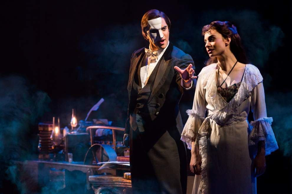 'Phantom' cast ready to bring down the house, or at least the chandelier _lowres